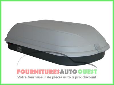 coffre de toit camtek 320 l 320l gris promo garantie ebay